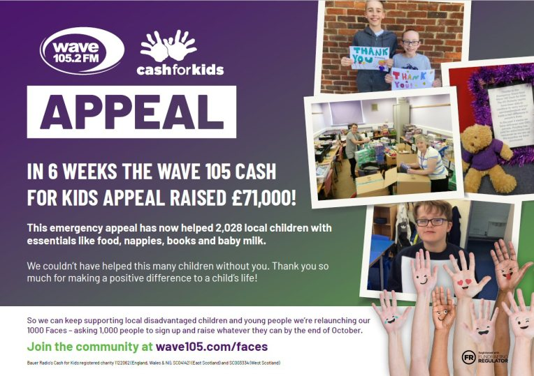 wave 105 appeal